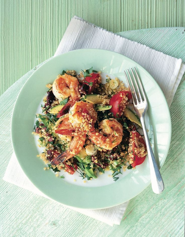 This low-cal prawn and avocado recipe is easy and is bursting with healthy fats.