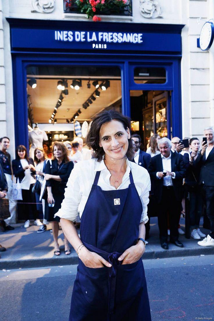 272 best Ines de la Fressange images on Pinterest | Front row ...