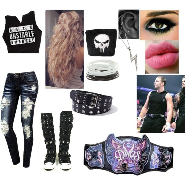 1000 ideas about wwe outfits on pinterest polyvore for Diva attire
