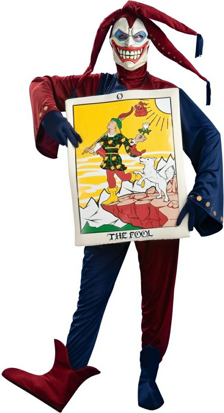Tarot Fool Adult Costume  Scary Costumes  Adult Costumes -8377