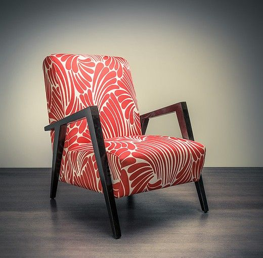 "Decades after Florence Broadhurst created her designs, a company named Signature Prints currently hold the ownership of them. Signature Prints have teamed up with inspirational fabric and homewares companies  such as Materialised, Hoad and Rapee to create pieces such as the ""Matisse"" chair (pictured), created by Materalised and features the original design ""Fingers""."
