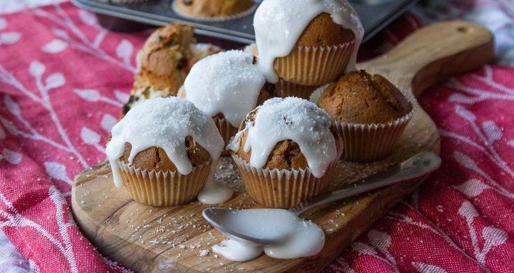 Muffins καρύδας