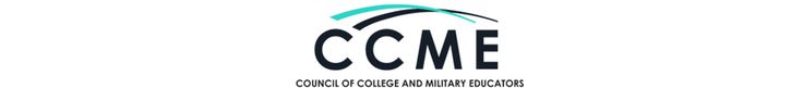 The Council of College and Military Educators (CCME) is pleased to offer $1000 scholarships each year to United States Service members (active duty/veterans) and spouses of Service members who are working towards the completion of higher education degrees.