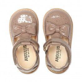 Angulus Tulle sko med sløjfe