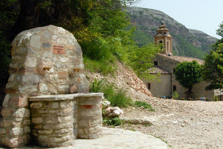 Santuario della Madonna del Lambro #marcafermana #montefortino #fermo #marche