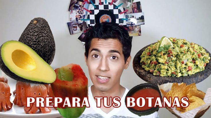 Botanas para el MUNDIAL: Salchipulpos, guacamole y pepinos tequileros