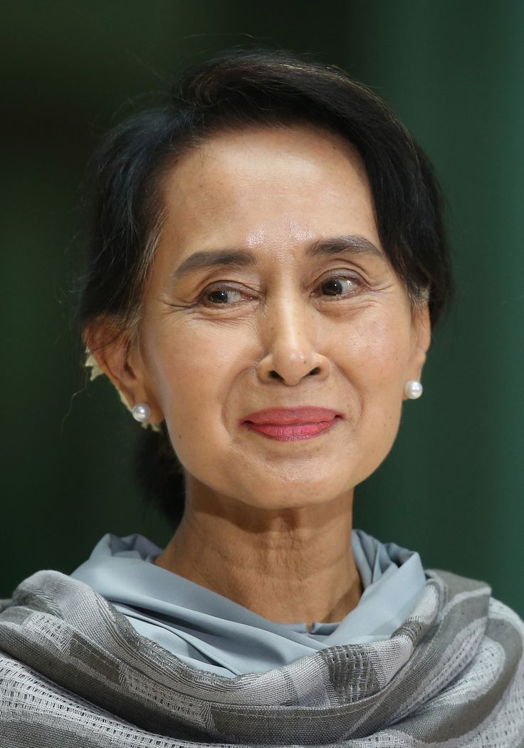 5. Aung San Suu Kyi, politician/Nobel Peace Prize winner | 51 Seriously Badass Ladies Who Will Make You Proud To Be A Woman
