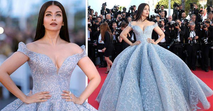 La estrella de Bollywood, Aishwarya Rai, vistió cual Cenicienta para la alfombra roja del Festival de Cannes; mira el vestido con vibra de Princesa Disney