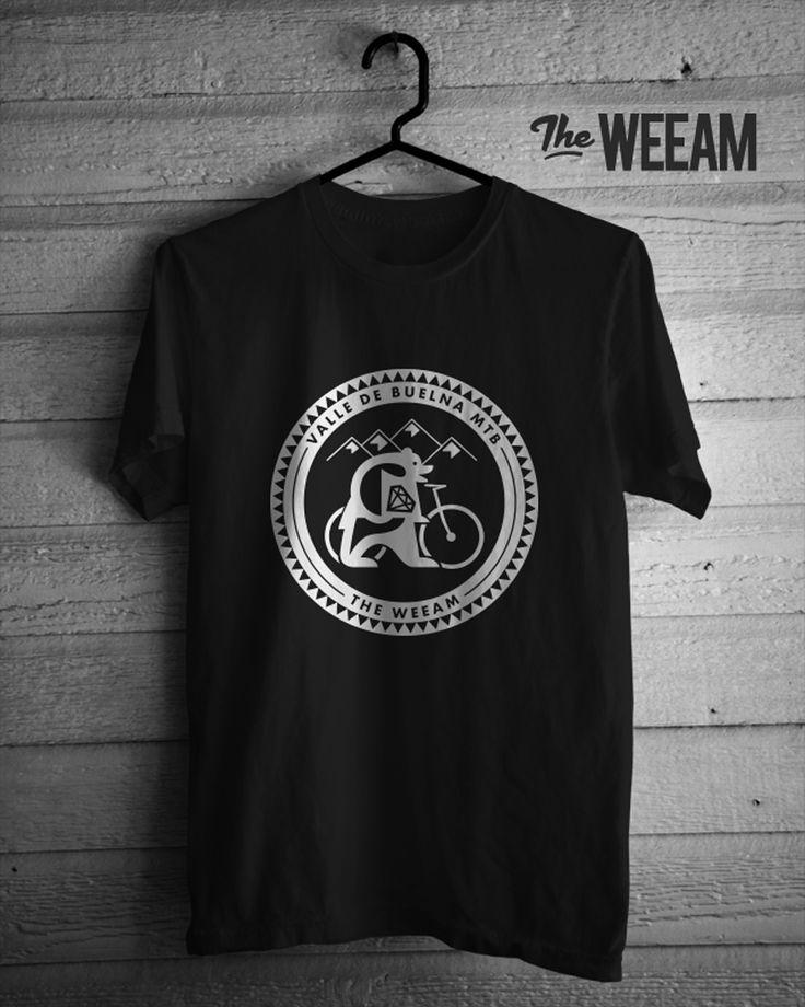 Diseño de camiseta especial de Edición Limitada para The Weeam para la IV Marcha Valle de Buelna Mtb