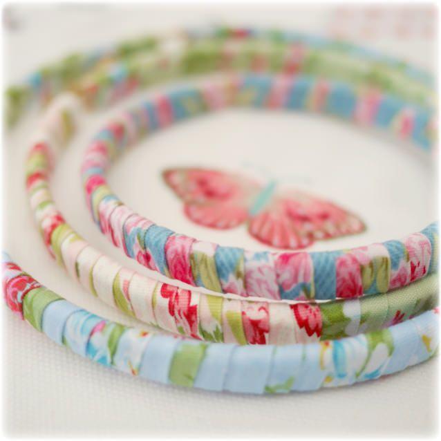 Butterfly hoops...
