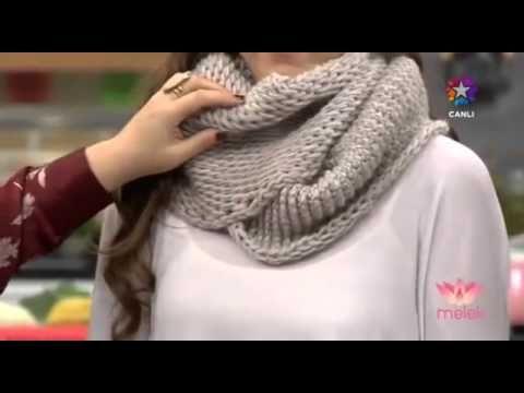 Tülin İriş Bere ve Boyunluk Modelleri - Melek 04.12.2014