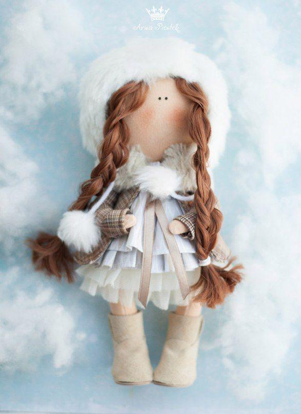 Куклы ручной работы от Арины Пионтек