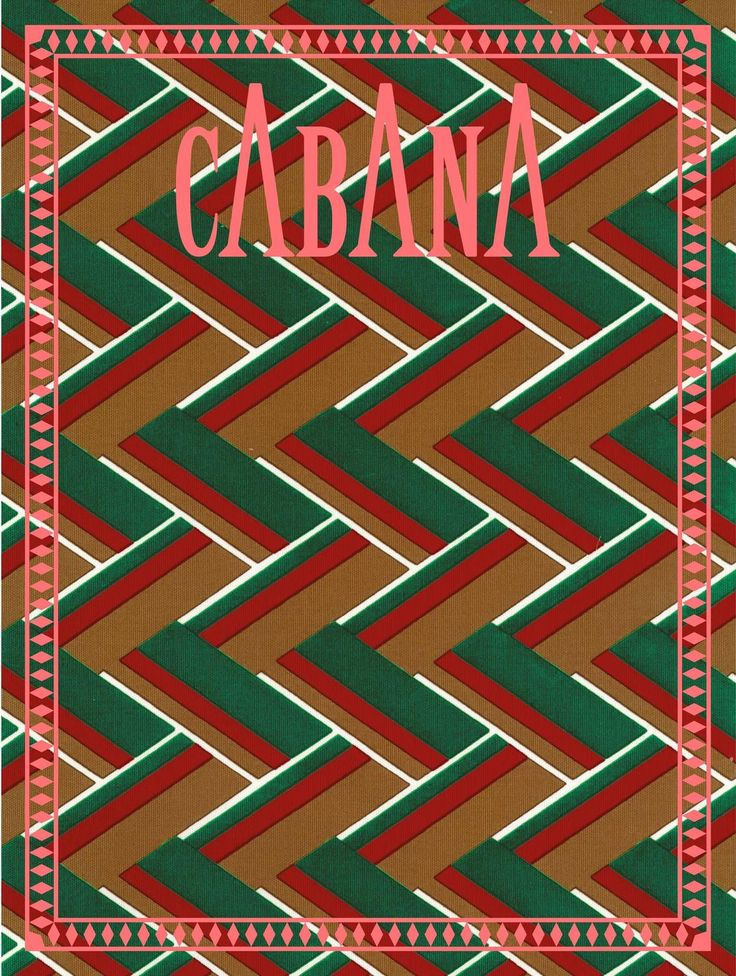 Cabana Magazine Issue 5, Cover by Gucci 2