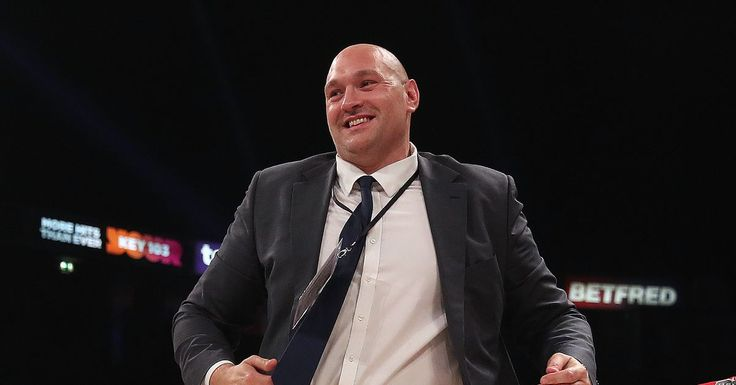 Tyson Fury cleared to fight as BBBoC lifts suspension #allthebelts #boxing