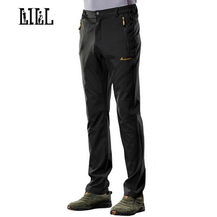 LILL | Stretch Quick Dry Waterproof Pants Spring Men Breathable Travel Trousers Men's Casual Pants Man Joggers Sportwear UA301