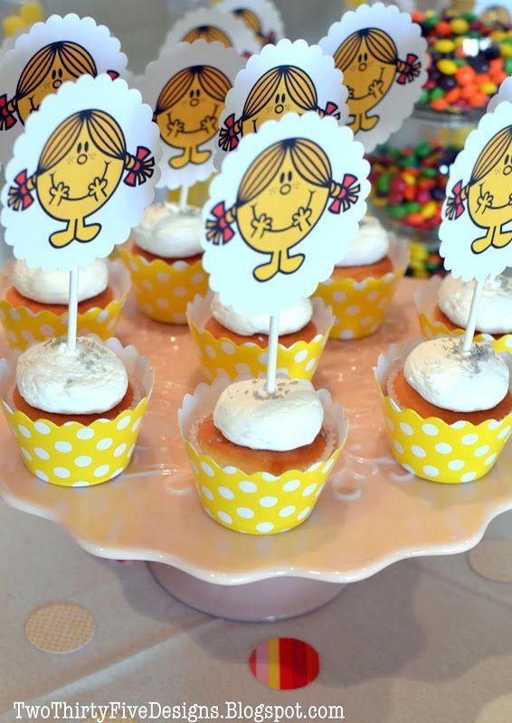 Best Mr Men  Little Miss Birthday Party Images On Pinterest - Little miss birthday cake