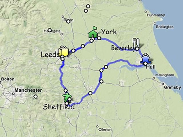 A Yorkshire Itinerary - Five Days Among Yorkshire's City Gems: About This Yorkshire Itinerary