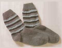 iKnitts: Patron para tejer calcetines con dos agujas