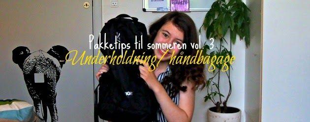Pakketips til sommeren vol. 3 -Underholdning på aseaofinspiration.blogspot.dk
