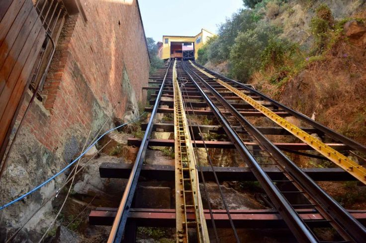 Cerro Concepcion Funicular, Valparaiso.   Valparaiso, Chile is gritty, colourful and full of character. From street art and top food, to the adventures of hopping on board funiculars and trolleybuses, this is one city you've got to see for yourself.