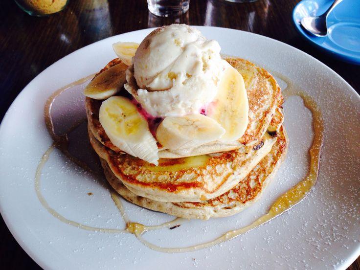 Delicious banana pancakes #melbourne #bricklane