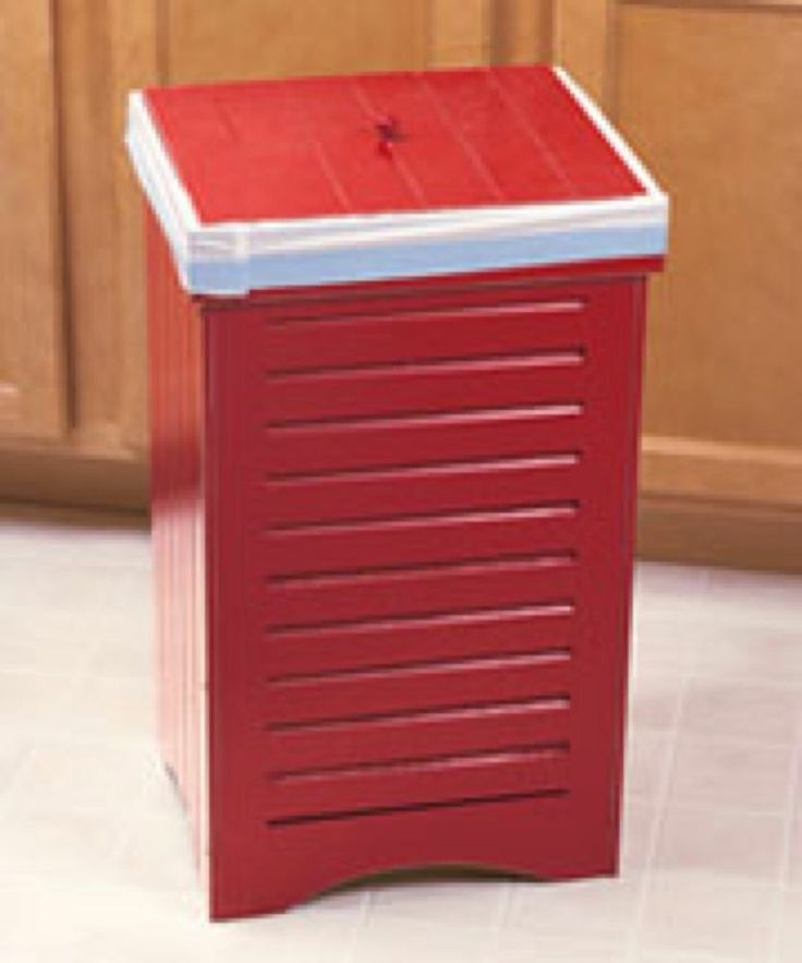 1000 Images About Wooden Kitchen Garbage Cans On Pinterest Recycling Bins Trash Containers