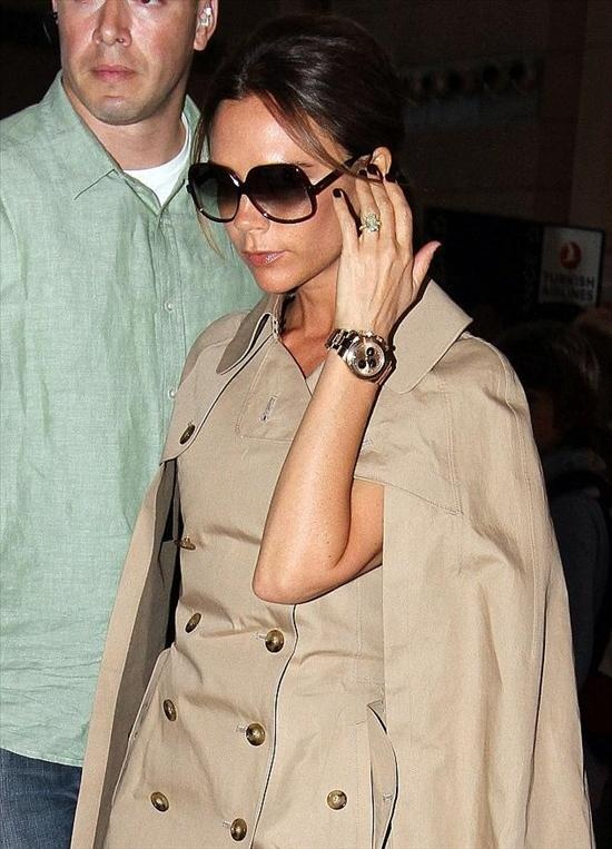 Victoria beckham wears a rolex daytona cosmograph watch celebrity watches pinterest rolex for Celebrity watches 2019 women