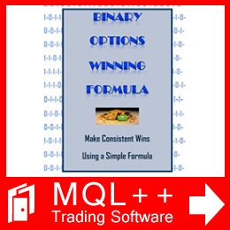 Binary options scalping software