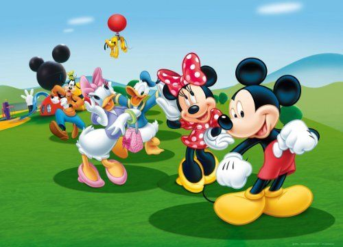 U0027MICKEY MOUSE CLUBHOUSEu0027 Photo Wallpaper Wall Mural, Http://www. Part 59