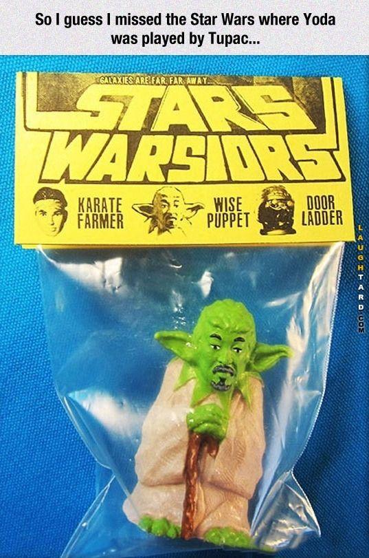 Yoda plays Tupac