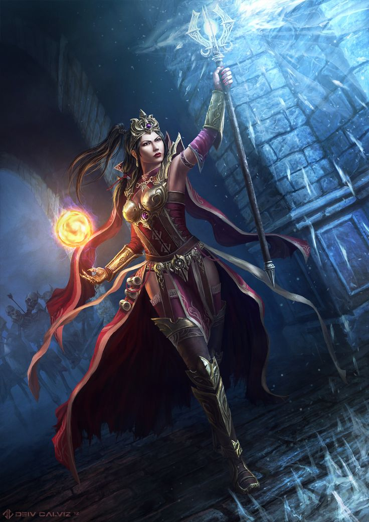 Diablo 3 - Wizard by ~DeivCalviz on deviantART