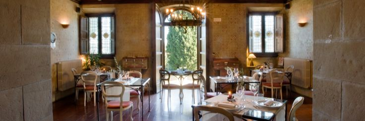 Our restaurant at Villa Campestri, innovative dining in Tuscany