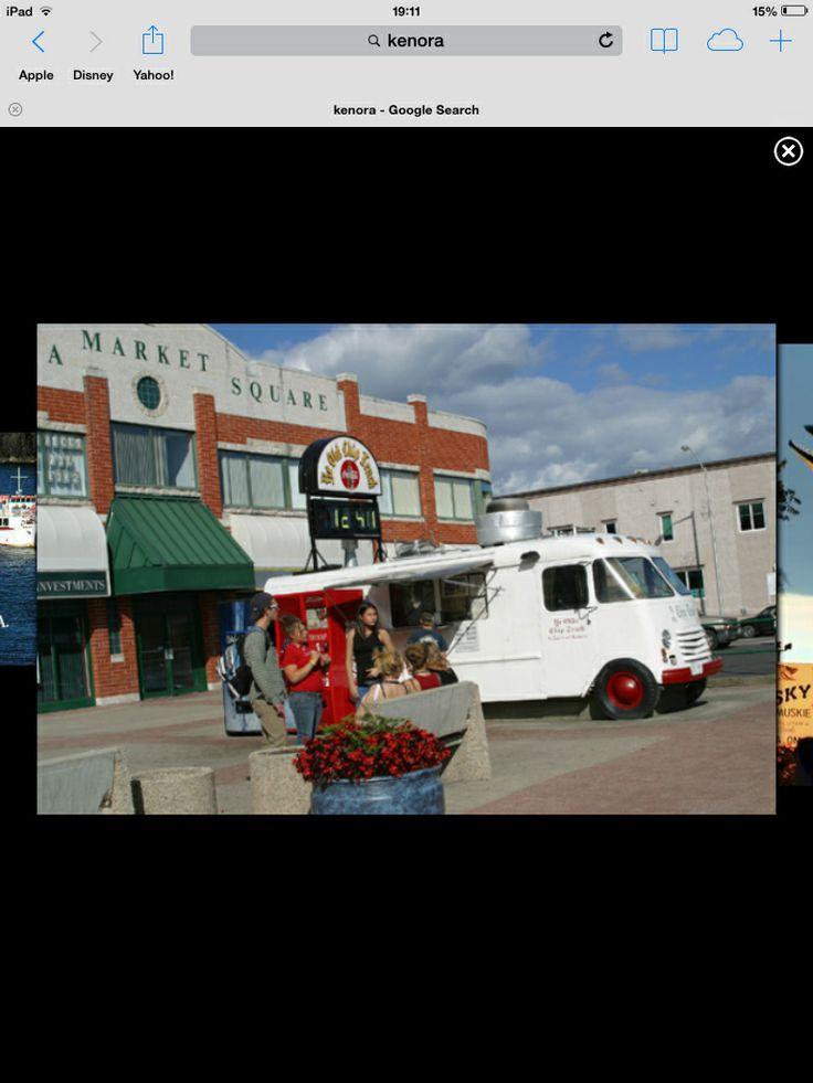 Best fries - chip truck in Kenora, Ontario