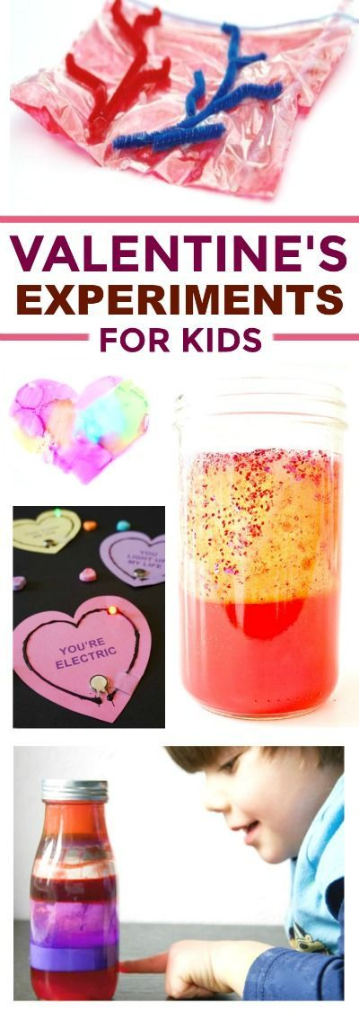 30+ VALENTINE'S THEMED EXPERIMENTS FOR KIDS- these are so cool!! #scienceforkids #valentinesideasforkids