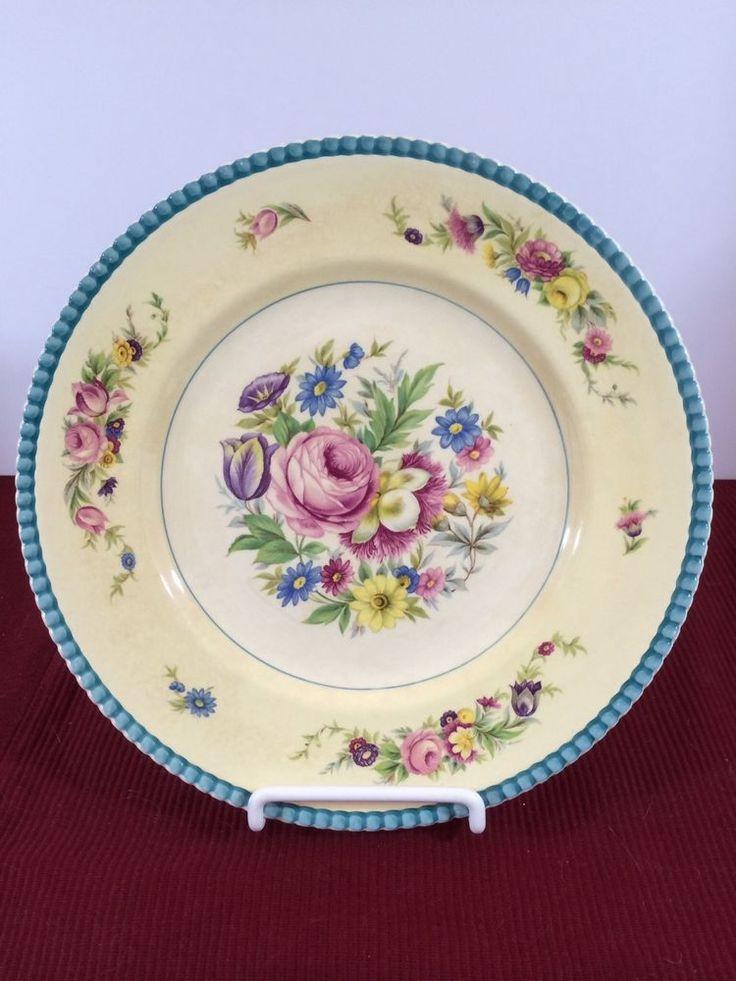 Ambassador Cream Ware Fondeville Dinner Plate England  #AmbassadorWare