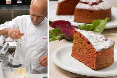 Κέικ με παντζάρια - Βήμα-Βήμα   γλυκές ιστορίες