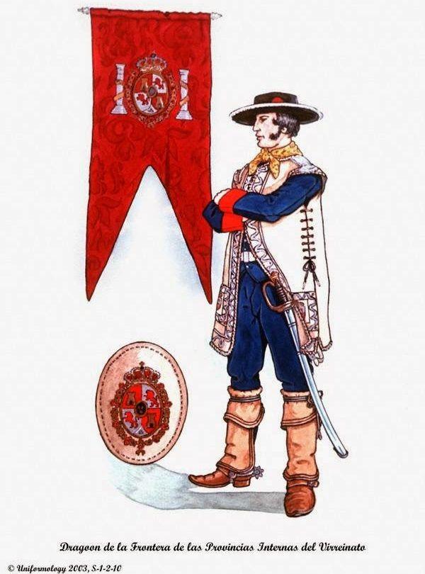 Dragones de Cuera 1779