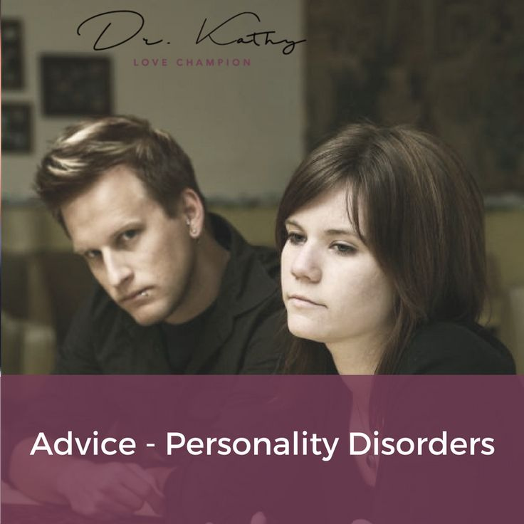 How to cope with and test for personality disorders, including information about different types of personality disorders. Click pin for help with your love struggles.