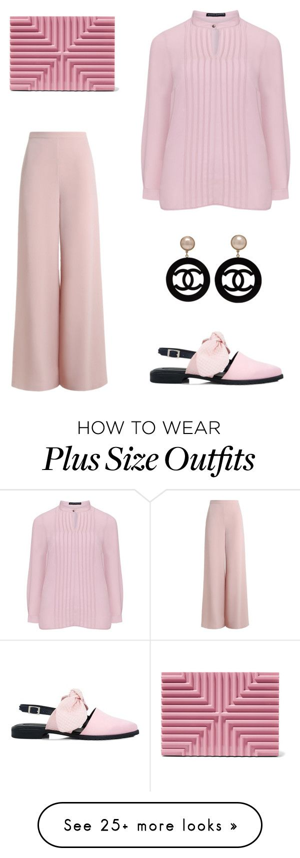 """""""Без названия #2537"""" by xeniasaintp on Polyvore featuring Lee Savage, Zimmermann, Manon Baptiste, Mother of Pearl and Chanel"""