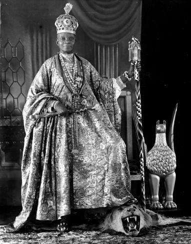 King Ladapo Samuel Ademola II (1872–1962) The Alake of Abeokuta.