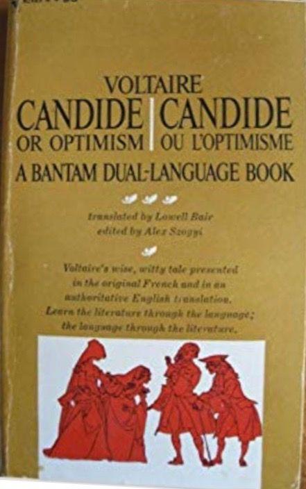 Candide Ou Loptimisme Par Voltaire Books I Read 2018 My Books