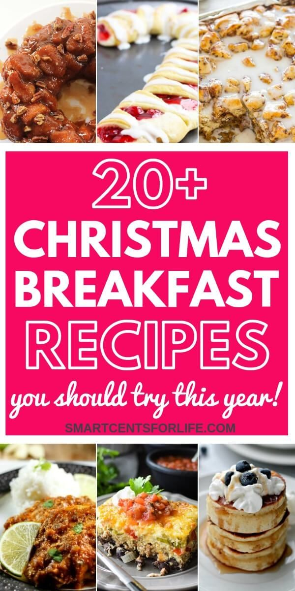 20 Amazing Christmas Breakfast And Brunch Recipes Brunch Recipes Christmas Breakfast Recipe Recipes