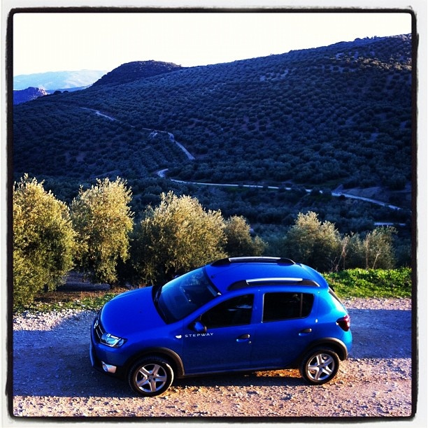 Automobiles Live from Spain where we are driving this New Dacia Sandero Stepway. - http://lesvoitures.fr/live-from-spain-where-we-are-driving-this-new-dacia-sandero-stepway/