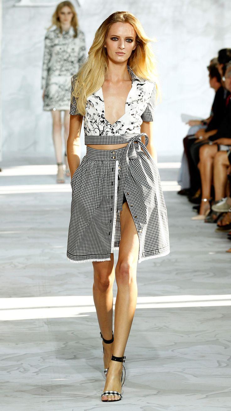 Kendall Jenner makes her Fashion Week debut at Diane von ...