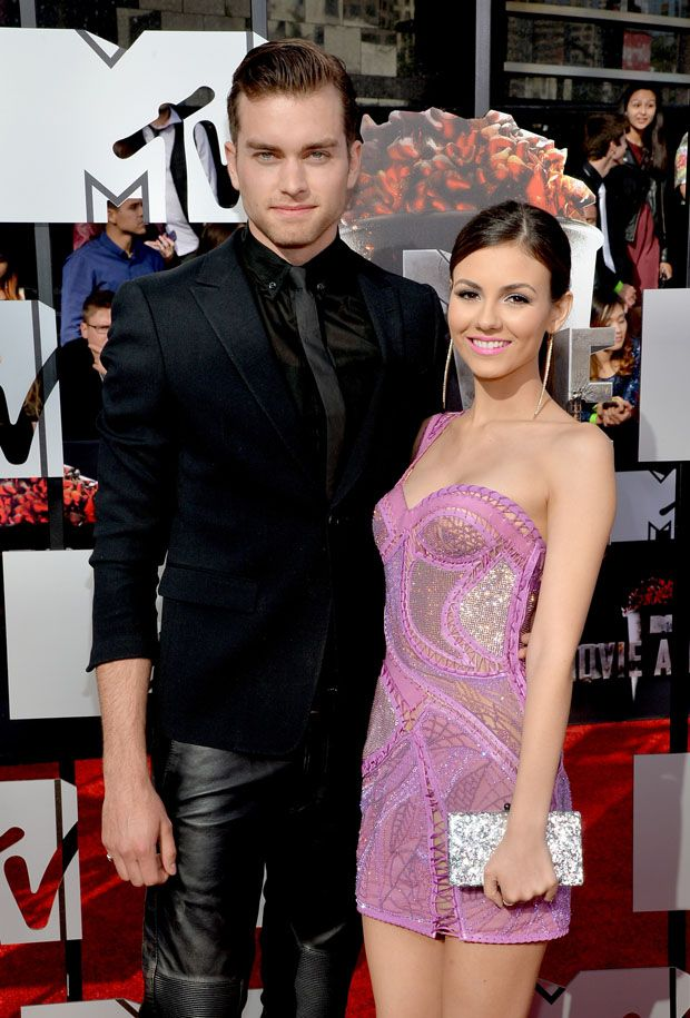 Peirson Fode and Victoria Justice - 2014 MTV Movie Awards