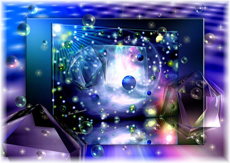 Universum, Planeten, Kunst