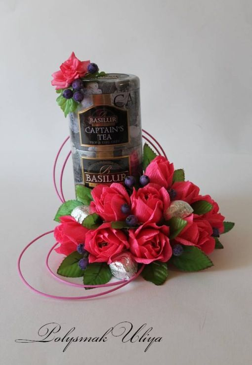 Gallery.ru / Фото #121 - Оформление алкоголя, чая, кофе, коробок конфет и печенья - pinata-kr