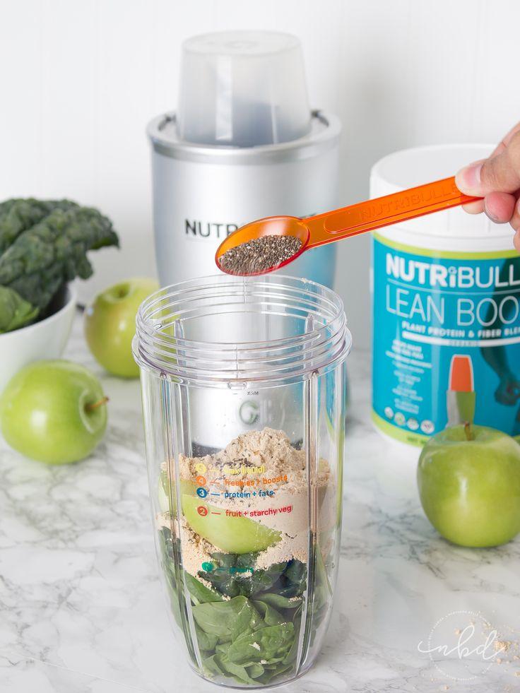 NutriBullet LEAN system 7-Day transformation smoothie mix #GetLEAN #sk #ad