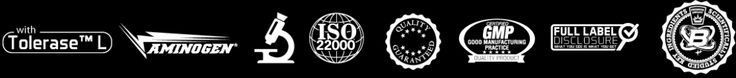 Tolerase | Aminogen | ISO 22000 | Good Manufacturing Practice | Full label disclosure | Scientifically Studued ingredients