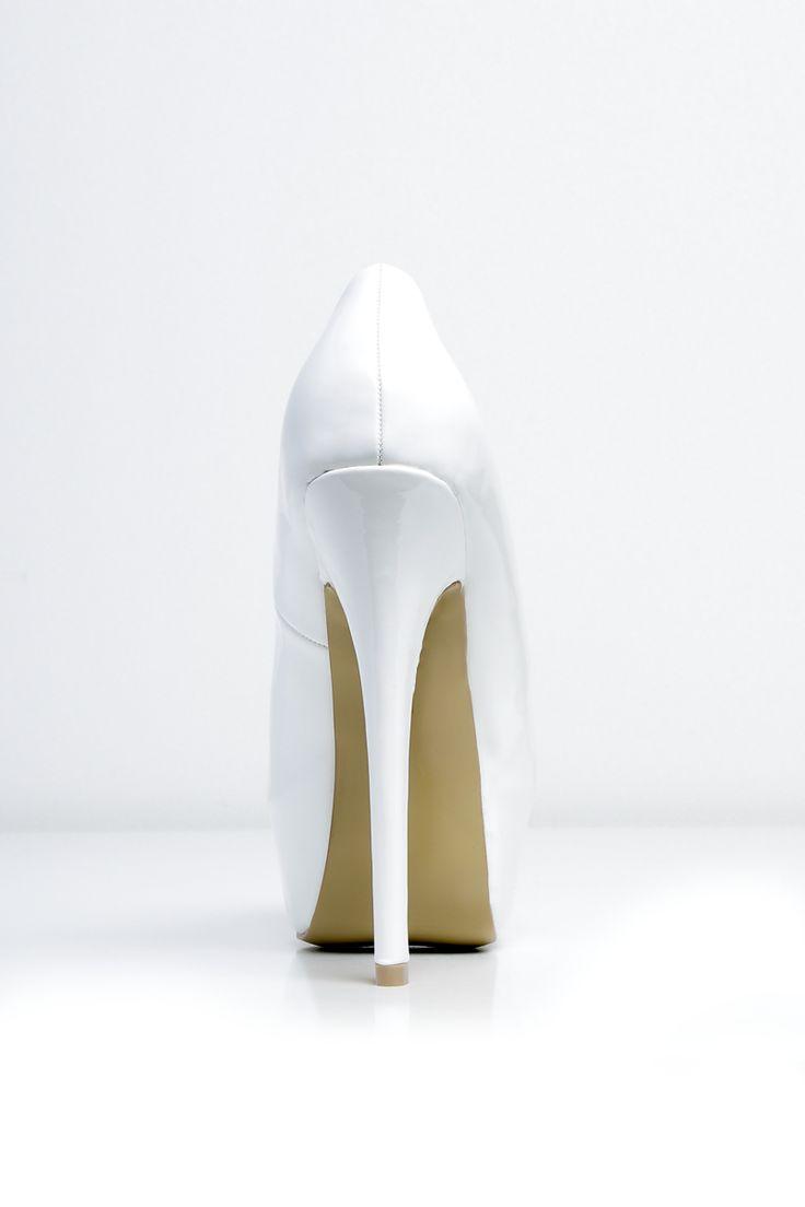 Escarpins blancs pas cher et sexy